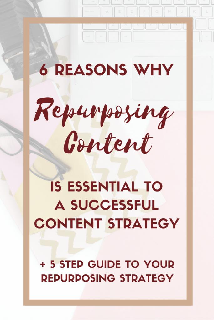 6 Reasons Why Repurposing is Essential (BONUS 5 STEP GUIDE)